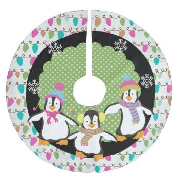 penguin jolly 4 tree skirt zazzle 161 best tree skirts images on