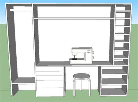 handwerk schrank organisation ideen sewing closet living n 228 hecke n 228 hzimmer