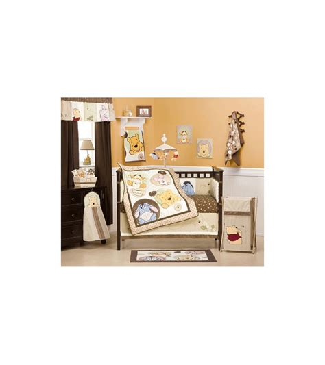 Peeking Pooh Crib Bedding Kidsline Peek A Boo Pooh 4 Crib Bedding Set
