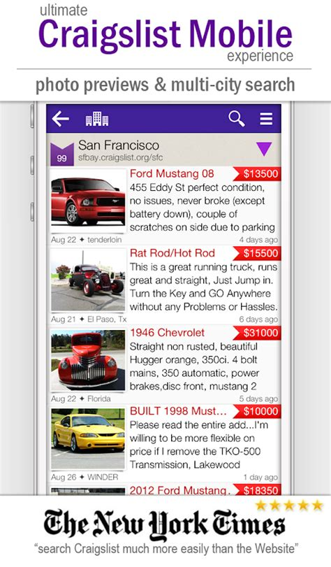craigslist pro app android cpro craigslist mobile client android apps on play