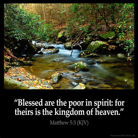 quot blessed are the poor image gallery scripture matthew 3