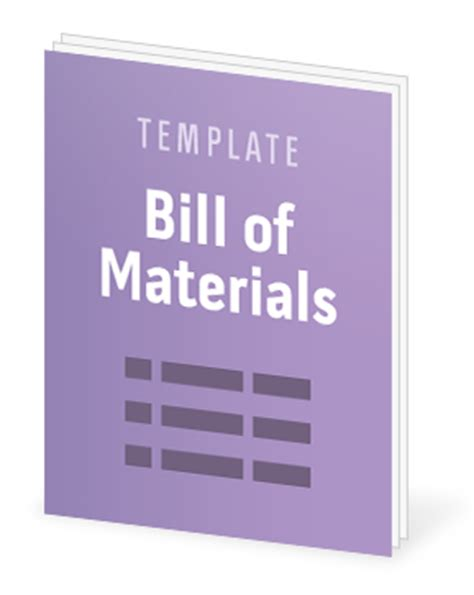 bill of materials template free advanced tip if your bom is getting complex you may