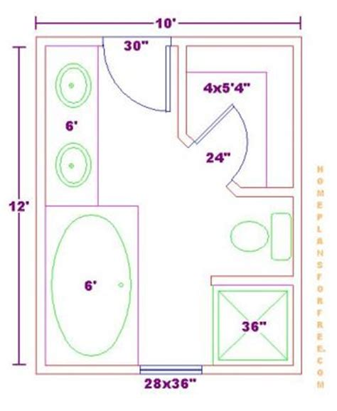 bathroom floor plans free click to view size image