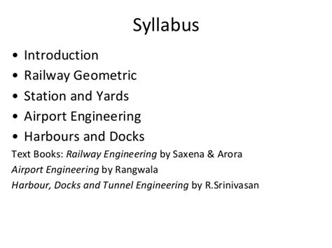 railway engineering book by saxena and arora pdf introduction to railway engineering t e 2