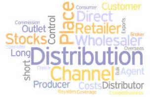 Product distribution place or its more common name distribution