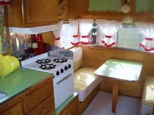 vintage shasta interior small trailers pinterest