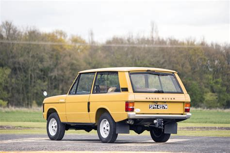 land rover old range rover classic two door