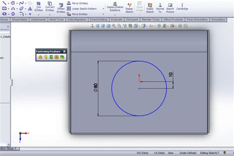solidworks tutorial indent tutorial vent feature in solidworks grabcad