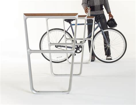 Landscape Forms Multiplicity Bike Rack Fuseproject Designs Flat Pack Outdoor Furniture