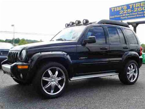 jeep liberty renegade light bar purchase used 2004 jeep liberty renegade sport utility 4