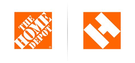 new home depot logo bp o branding packaging and opinion