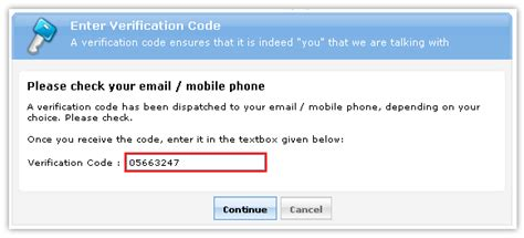 verification code how to unlock locked accounts