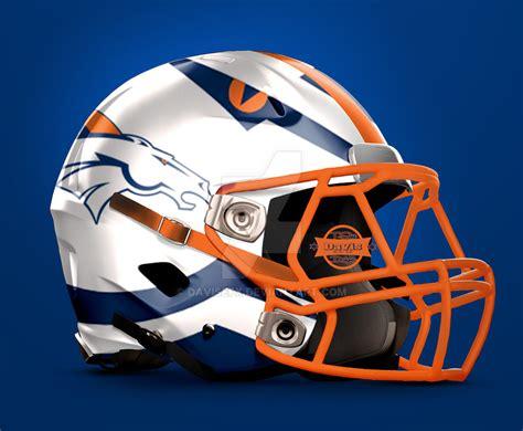 helmet design photoshop denver broncos football helmet design by davisefx on