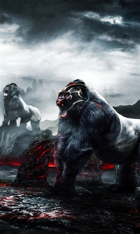 gorilla warriors  wallpapers hd wallpapers id