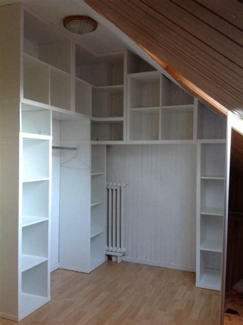 Loft Bed Hacks Un Dressing D Angle Kallax Pour La Chambre Bidouilles Ikea