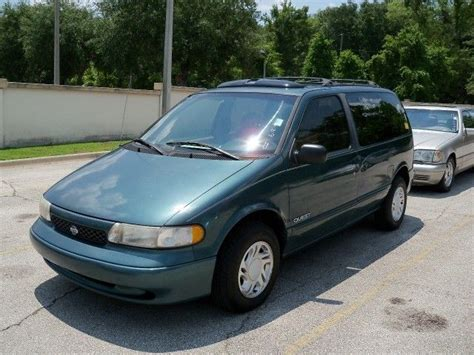 1996 Nissan Quest Gxe Minivan