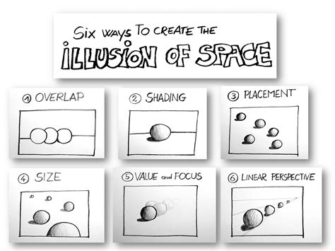 create drawing tutorial the illusion of space