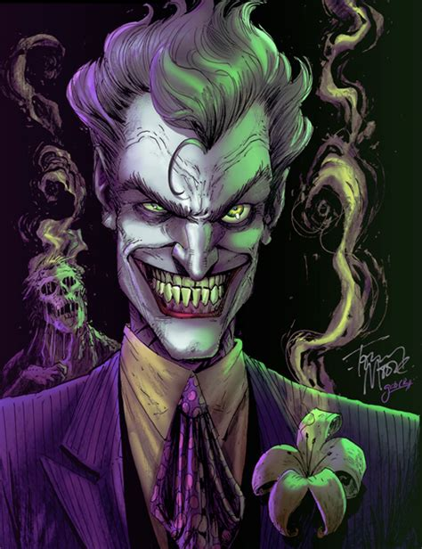 the joker colors joker by tony colors by gabcontreras on deviantart