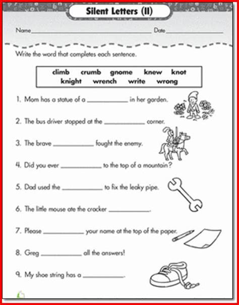 Phonics For 1st Grade Worksheets by Free Phonics Worksheets For 1st Grade Project