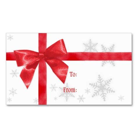12 Christmas Gift Tag Templates Images   Free Printable
