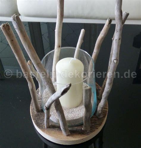 kerzenhalter dekorieren kerzenhalter aus schwemmholz und holz basteln und dekorieren