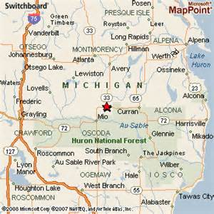 map from michigan to florida fairview michigan
