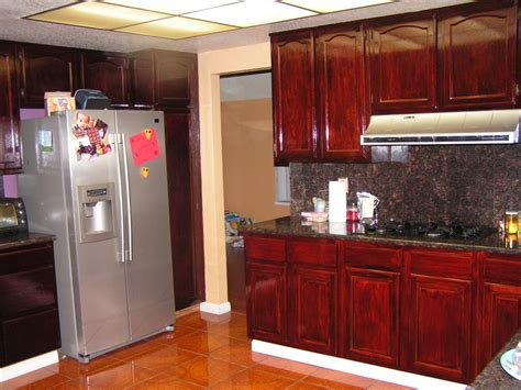 kitchen cabinet staining staining kitchen cabinets ideas loccie better homes
