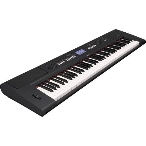 Keyboard Yamaha Npv 60 Yamaha Piaggero Np V60 Lightweight Digital Piano Npv60 B H