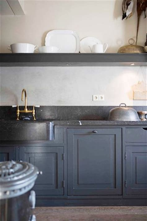 having a moment blue gray kitchen cabinets mydomaine having a moment blue gray kitchen cabinets mydomaine