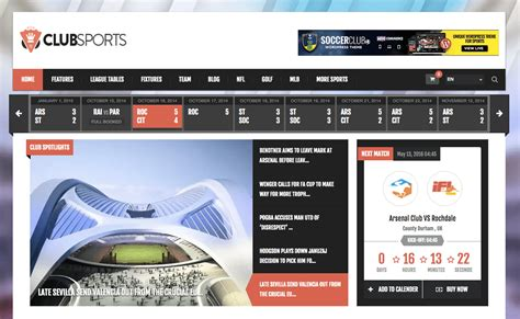 Themes Wordpress Free Sport | the 15 best wordpress sports themes wpexplorer