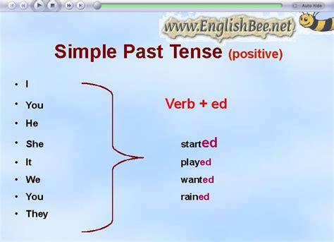simple past tense past tense coloring pages