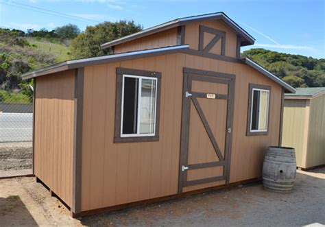 8 X 16 Shed by California Custom Sheds 8 X 16 Ponderosa Style Roof