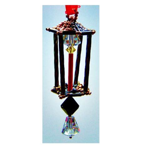 pattern for christmas lantern 167 best images about beaded christmas ornament patterns