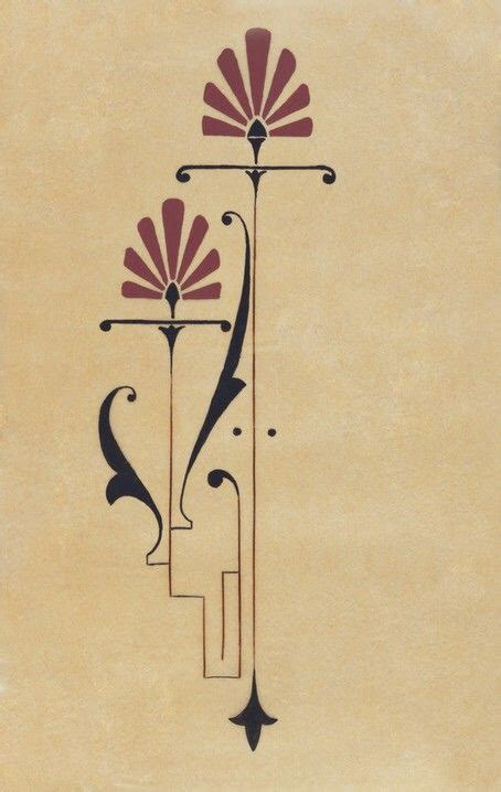 art deco tattoo design pinteres