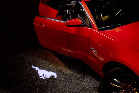ford mustang photo gallery 2013 pony projection door