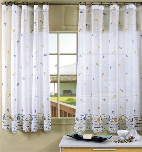 cortinas de interior visillos cocina visillos cocina decorar interior moderno