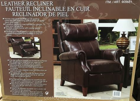 synergy home furnishings leather recliner chair costco