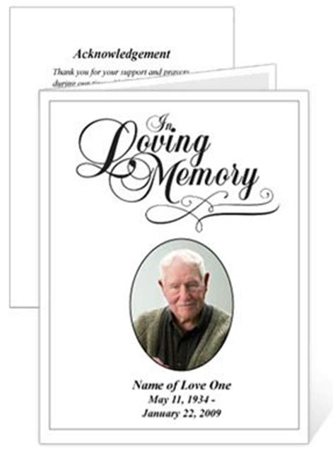 funeral memory cards free templates memorial cards templates and cards on