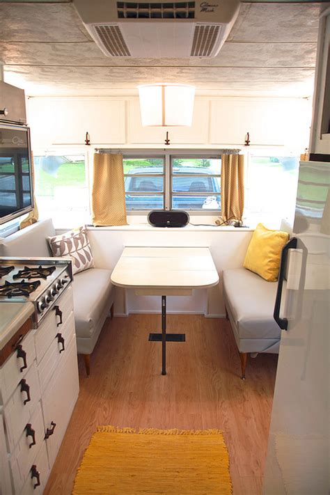 travel trailer restoration ideas vintage cer turned gler diy renovation the noshery