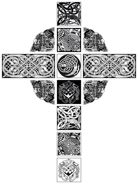 tribal celtic cross tattoo designs celtic cross tattoos