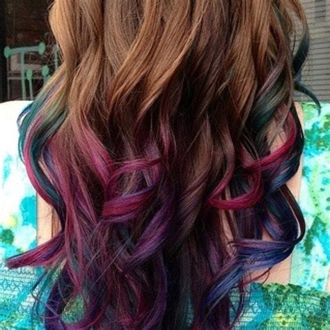how does purple shoo work on recent highlights violet highlights in brown hair purple pink green blue