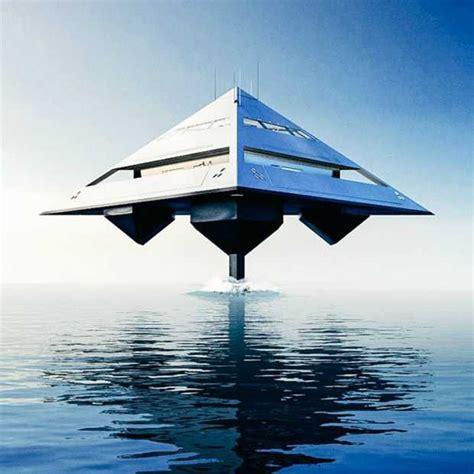 jacht boot dit jacht in de vorm van een piramide is wel h 233 233 l bijzonder