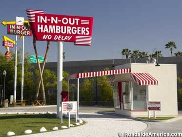inn and out locations replica of the in n out burger baldwin park california