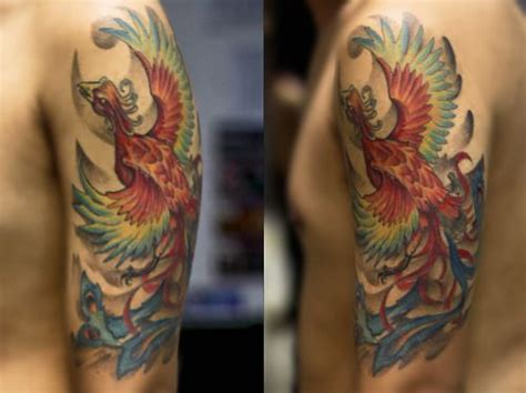 tattoo jakarta lawless awesome ho oh pokemon inspired tattoo not for me but