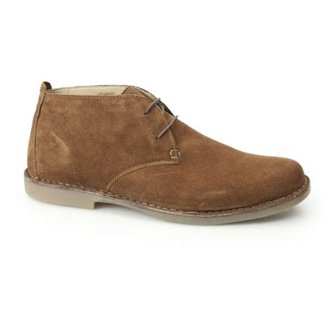 mens wide fit desert boots padders joe mens suede wide fit lace up desert boots