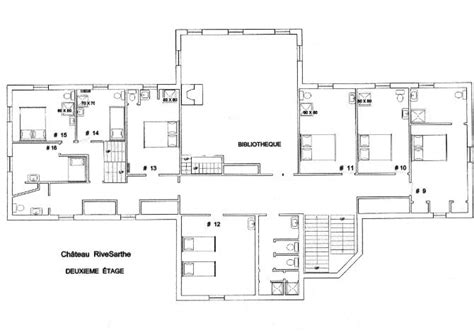 chateau floor plans chateauplans