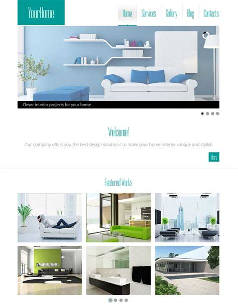 interior design websites free 50 interior design furniture website templates 2017