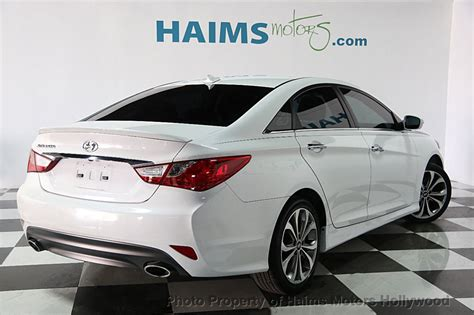 hyundai sonata 2014 used 2014 used hyundai sonata 4dr sedan 2 0t automatic se at