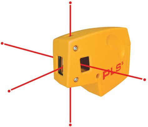 Laser Plumb Level by Pls Laser Pls 60541 Pls 5 Laser Level Tool Yellow Line