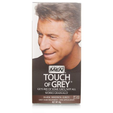 touch of grey hair color just for touch of grey brown grey hair dye